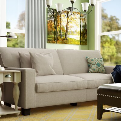 Lonnie 78 Track Arm Sofa Upholstery Color: Beige
