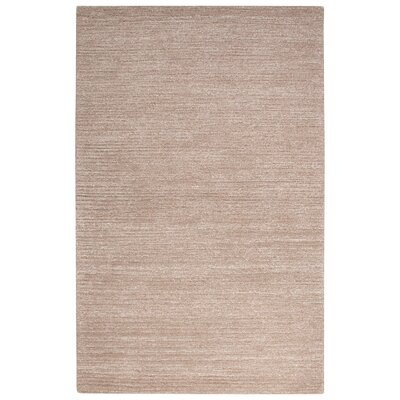 Nathaniel Hand-Tufted Tan Area Rug Rug Size: 2 x 3