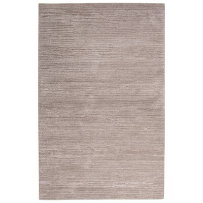 Nathaniel Hand-Tufted Gray Area Rug Rug Size: Rectangle 2 x 3