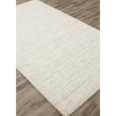 Volmer Hand-Loomed Ivory/White Area Rug Rug Size: Rectangle 2 x 3