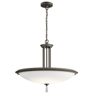 Marler 4-Light Bowl Pendant Finish: Olde Bronze