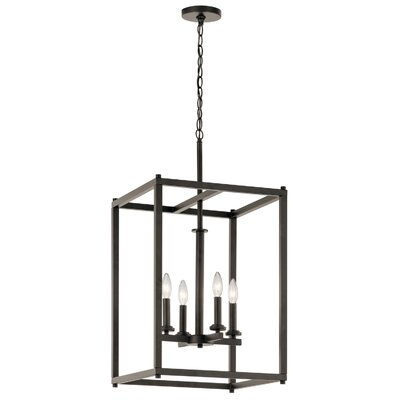 Chelsie 4-Light Foyer Pendant Finish: Olde Bronze