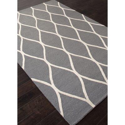 Williamsport Gray/Ivory Rug Rug Size: 5 x 8