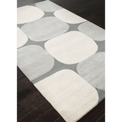Williamsport Gray & Ivory Area Rug Rug Size: 2 x 3