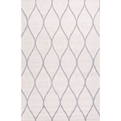 Williamsport Ivory/Gray Rug Rug Size: 5 x 8