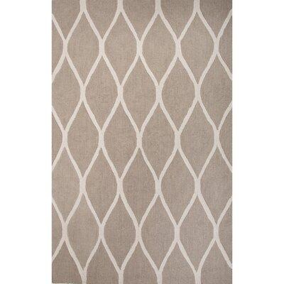 Williamsport Taupe/Ivory Geometric Area Rug Rug Size: 2 x 3