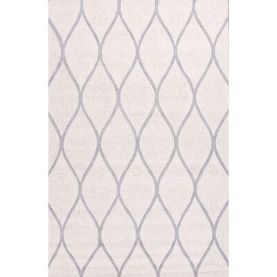 Tinkham Hand Tufted Ivory/Gray Area Rug