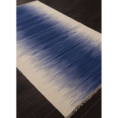 Dionne Wool Blue/Ivory Area Rug