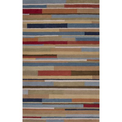 Racquel Hand-Tufted Wool Area Rug Rug Size: 13 x 9