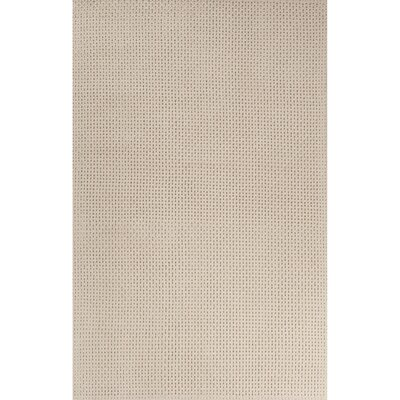 Moquin Hand-Woven Natural Area Rug Rug Size: 8 x 11