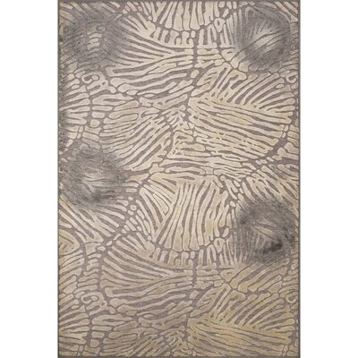 Stockbridge Gray Area Rug Rug Size: 53 x 78