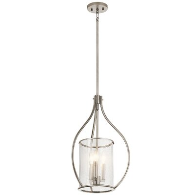 Vera 3-Light Foyer Pendant Finish: Classic Pewter