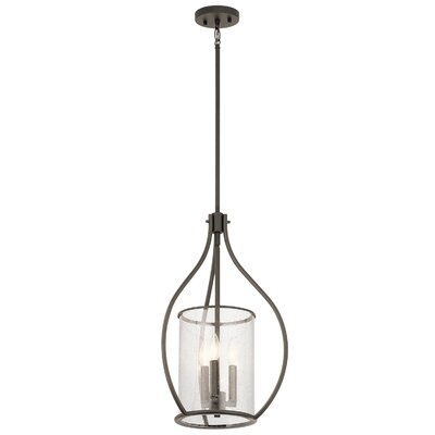 Vera 3-Light Foyer Pendant Finish: Olde Bronze