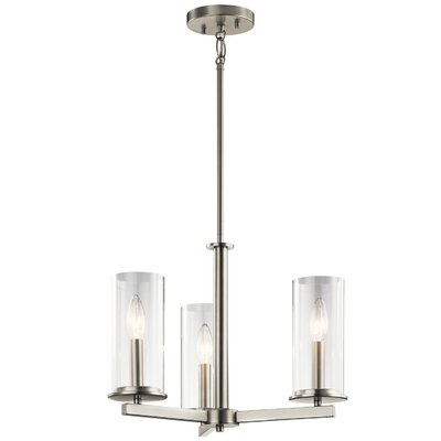 Myrie 3-Light Shaded Chandelier