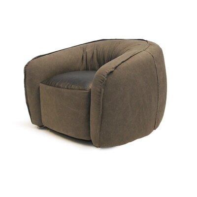 Tanya Barrel Chair Upholstery: Ash Gray
