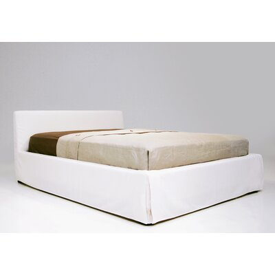 Lucy Upholstered Platform Bed Size: King
