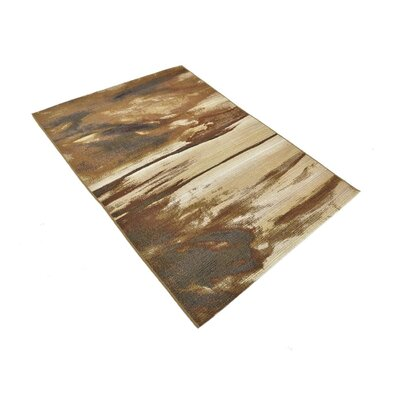 Skylar Brown Indoor/Outdoor Area Rug Rug Size: Rectangle 53 x 8