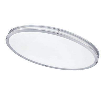 Kareem 1-Light Flush Mount Finish: Satin Chrome