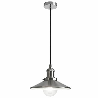 Benjamin 1-Light Mini Pendant Size: 5 H  x 9 W