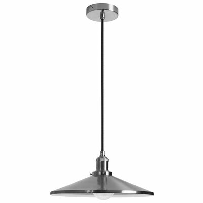Benjamin 1-Light Mini Pendant Size: 7 H  x 14 W