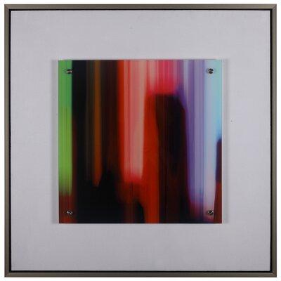 'Electrodes' Framed Graphic Art