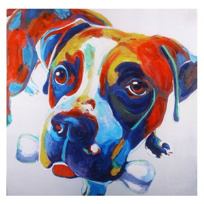'Nellie' Original Painting on Wrapped Canvas