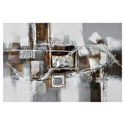 'Shimmer 2' Graphic Art on Wrapped Canvas