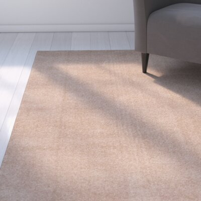 Violet Beige Area Rug Rug Size: Rectangle 67 x 92