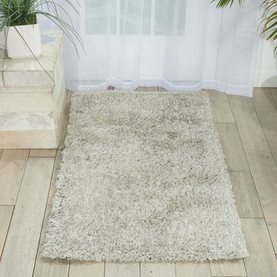 Sienna Hand-Tufted Azure Area Rug Rug Size: Rectangle 2'3