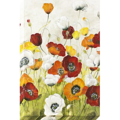 My Poppy Garden Painting on Wrapped Canvas