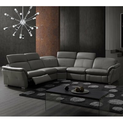 Weston Leather Sectional