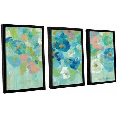 'Spring Aroma I' by Silvia Vassileva 3 Piece Framed Painting Print Set