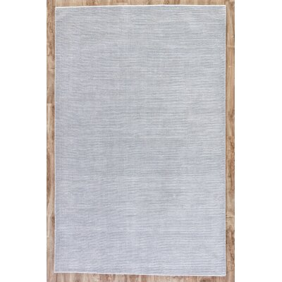 Melbourne Hand-Woven Gray Area Rug Rug Size: Rectangle 8 x 10