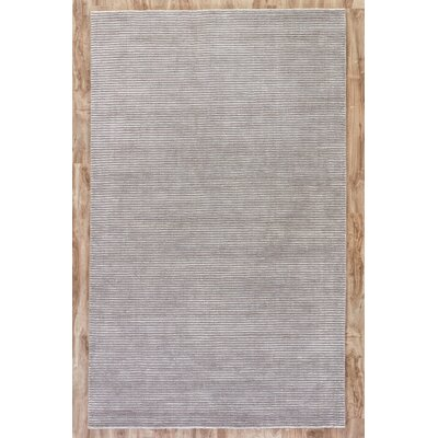 Melbourne Hand-Woven Gray Area Rug Rug Size: 8 x 10