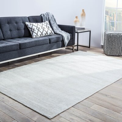 Malden Hand-Woven Light Beige Rug Rug Size: Rectangle 9 x 12
