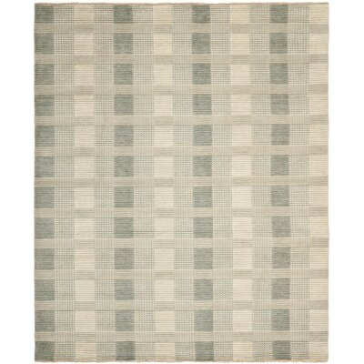 Apple Creek Hand-Knotted Gray Area Rug Rug Size: 8 x 10