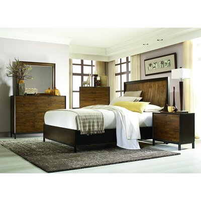 Kolton Panel Bed Size: King
