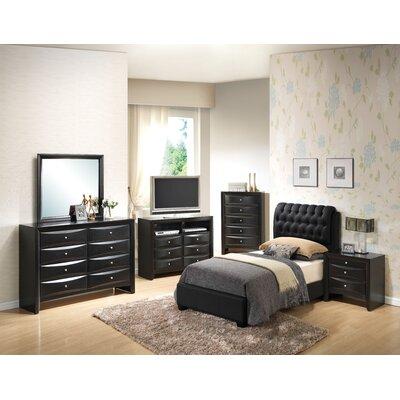 Leonis Upholstered Panel Bedroom Set
