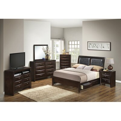 Leonis Storage Panel Customizable Bedroom Set