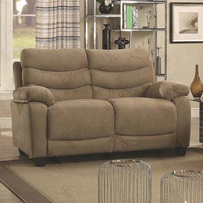 Ohboke Loveseat Upholstery Color: Mocha