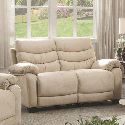 Ohboke Loveseat Upholstery Color: Light Beige