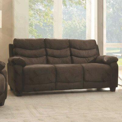 Ohboke Sofa Upholstery Color: Chocolate