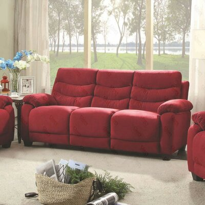 Ohboke Sofa Upholstery Color: Red Cherry