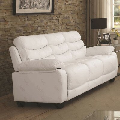 Ohboke Sofa Color: White
