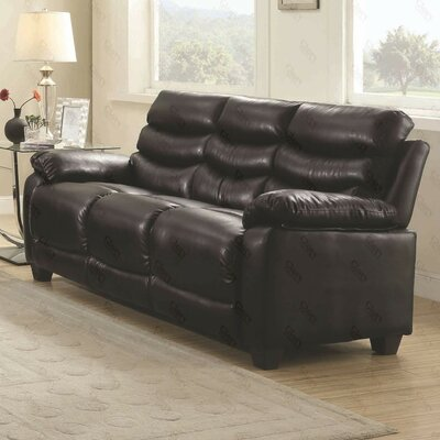Ohboke Sofa Color: Black