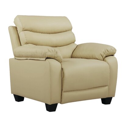 Ohboke Club Chair Upholstery: Beige