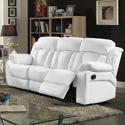 Pavonis Sofa Color: White