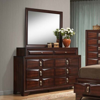 Pax 8 Drawer Dresser with Mirror