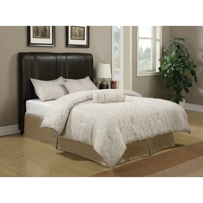 Capone Upholstered Panel Bed Size: California King