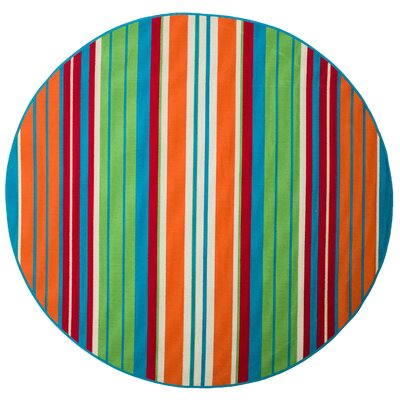 Charmaine Indoor/Outdoor Area Rug Rug Size: Round 66